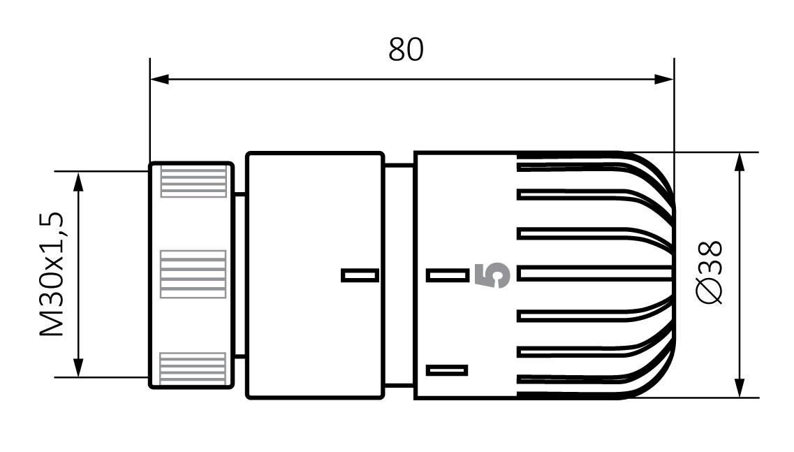 Głowica termostatyczna Etna